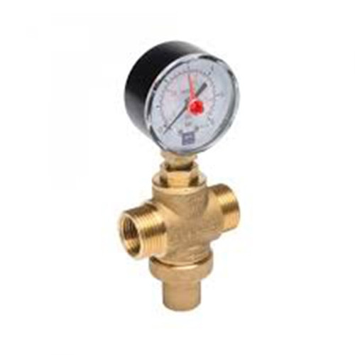 PLASSON Pressure Reducing Valve & Gauge.