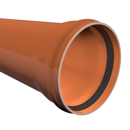 3m x 400mm ULTRA3 Large Diameter Sewer Drainage Pipe.
