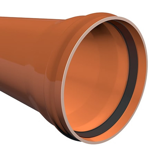 3m x 500mm ULTRA3 Large Diameter Sewer Drainage Pipe.