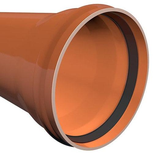 3m x 630mm ULTRA3 Large Diameter Sewer Drainage Pipe.