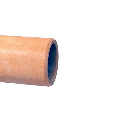 300mm Densleeve Plain End Clay Rocker Pipe 0.6m.