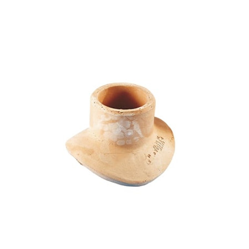 100mm Densleeve Square (90dg) Clay Pipe Saddle.