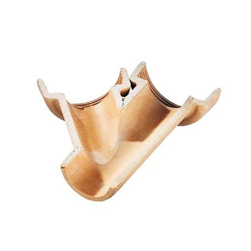 Densleeve Left Handed Oblique (45dg) Socketed Clay Channel Junction.