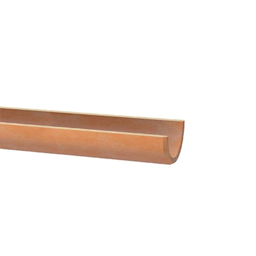 150mm Densleeve Clay Channel Butt Pipe 1m.