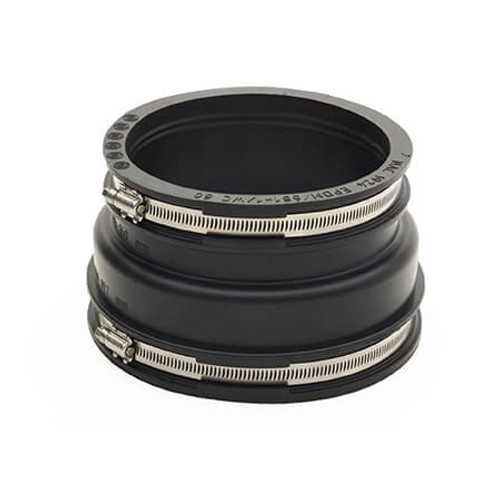 144-160/121-136mm Mission Rubber Adaptor Coupling.