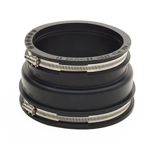 180-200/100-115mm Mission Rubber Adaptor Coupling.