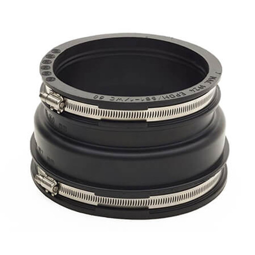 185-210/110-125mm Mission Rubber Adaptor Coupling.