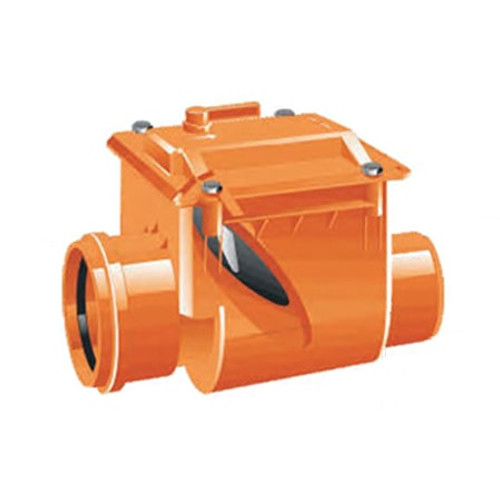 300mm (DN) Mission Single Flap Non-Return Valve.
