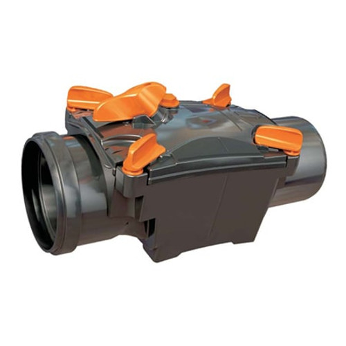 150mm (DN) Mission Double Flap Non-Return Valve.