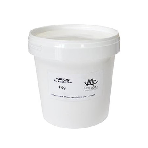1kg Mission Pipe Lubricant - White.