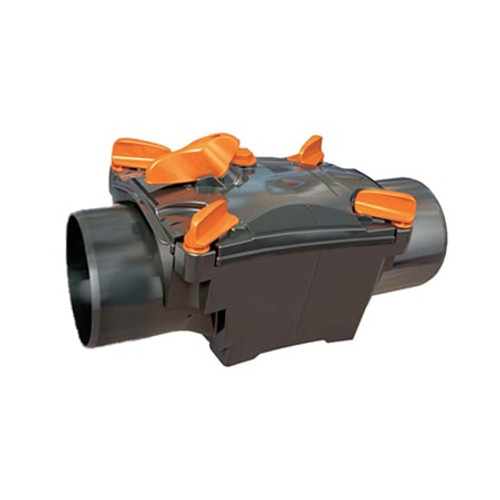 100mm (DN) Mission Single Flap Non-Return Valve - Spigot to Spigot.