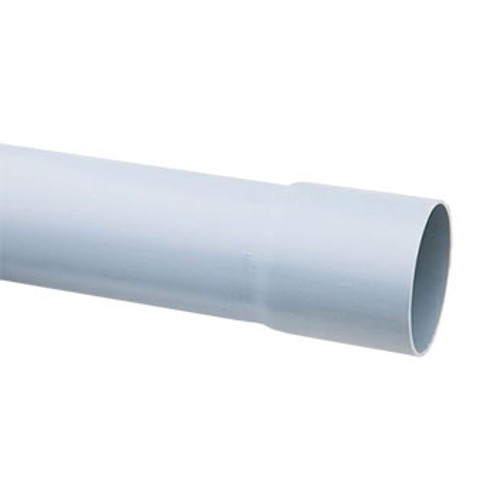 96.5mm grey socketed ducting.