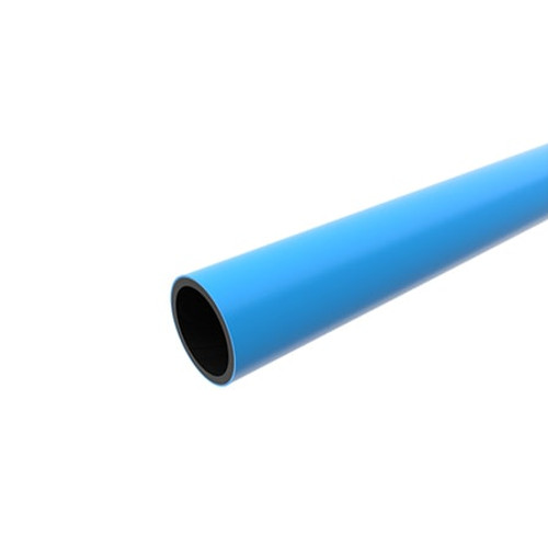 280mm Blue PE100 SDR17 Water Mains Pipe Length.
