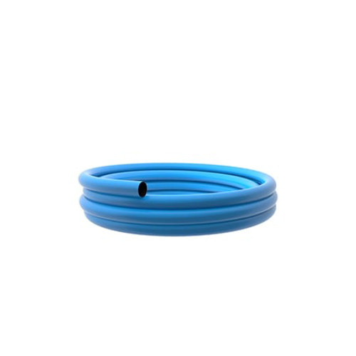 125mm Blue PE100 SDR11 Water Mains Pipe 50m Coil.