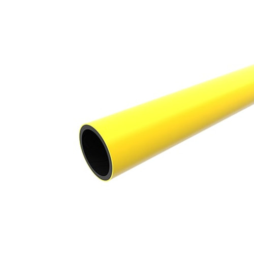 315mm Yellow PE80 SDR21 Gas Pipe Length.