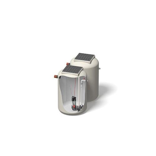 1000x1500mm 1120 Litre 6m Head Trent Pump Chamber - Foul Water Single Pump.