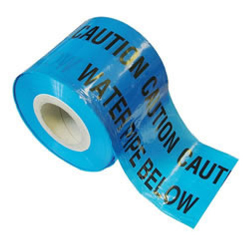 Blue Water Warning Marker Tape