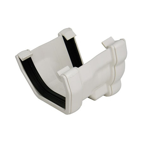 110mm Niagara Ogee to Square Gutter Adaptor - R/H.