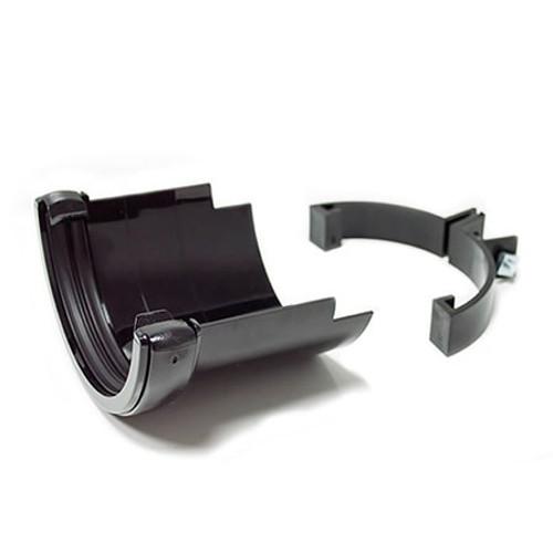 """112mm """"Cast Iron"""" Style Half Round Gutter Adaptor."""
