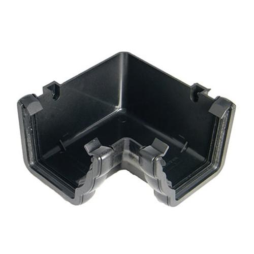"""110mm """"Cast Iron"""" Style Niagara Ogee Gutter 90dg Angle - Internal."""