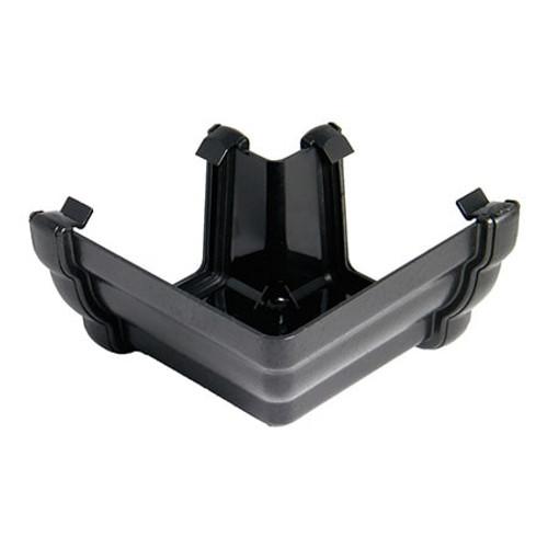 """110mm """"Cast Iron"""" Style Niagara Ogee Gutter 90dg Angle - External."""