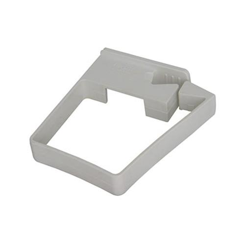 65mm Square Single Fix Pipe Clip.