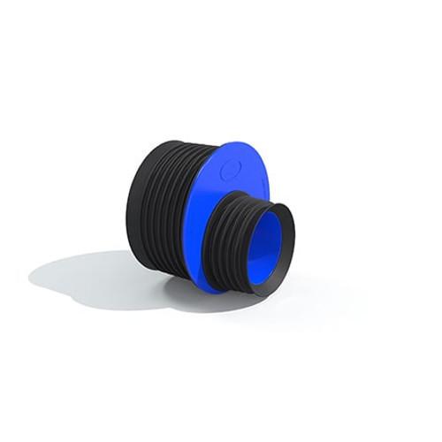 99-103/148-153mm Flexseal Internal Pushfit Coupling - DN100-DN150.