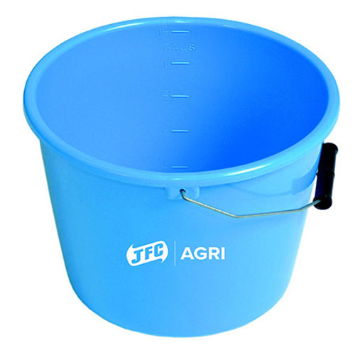 5L Blue Feed Bucket.