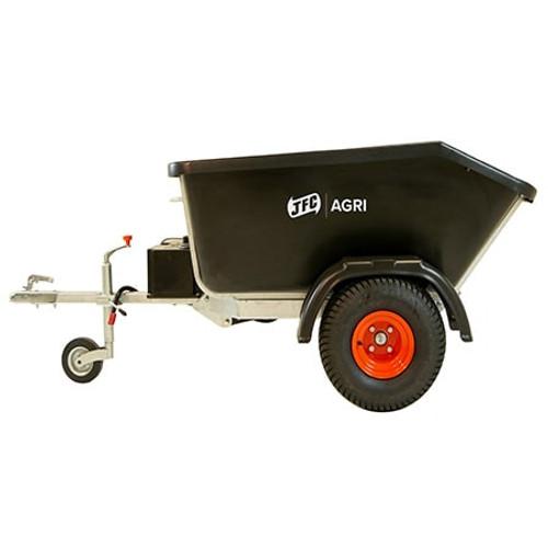 ATV Hydraulic Tipping Trailer.