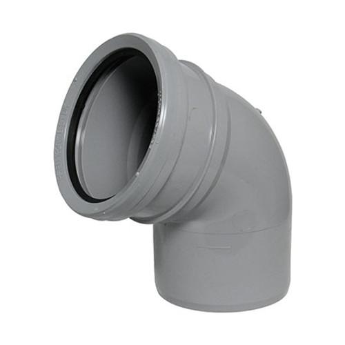 110mm Socket/Spigot 112.5dg Bend.