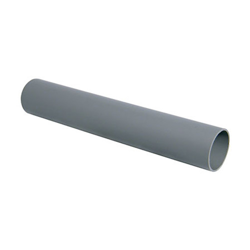 Push-Fit 3m Waste Pipe - Grey.