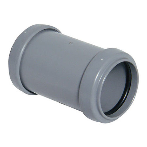 Push-Fit Straight Coupling - Grey.