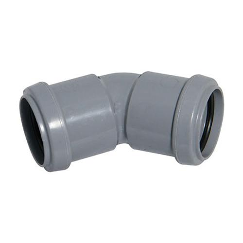 Push-Fit 135dg Bend - Grey.