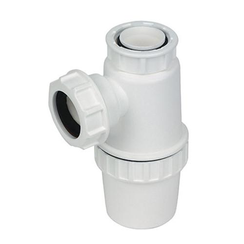Bottle Trap - 76mm seal - White.