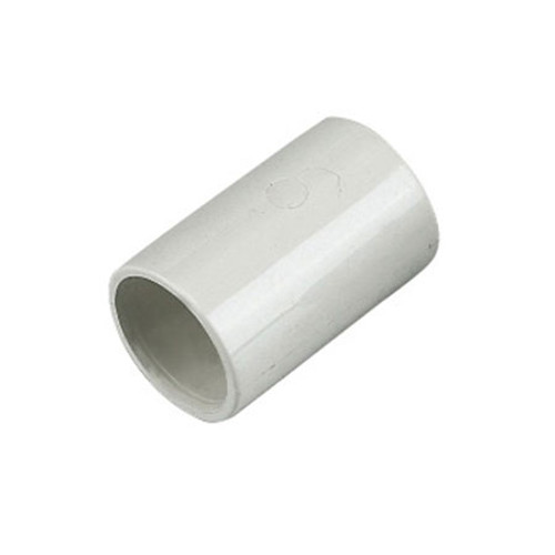 21.5mm Overflow Coupling - White.