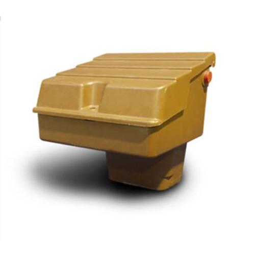 Mitras Semi-Buried Gas Meter Box - Brown (for U6 Metal Meter).