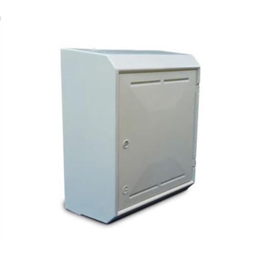 Mitras Surface Mounted Gas Meter Box - White.
