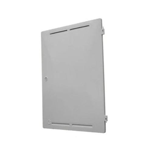 Mitras Recessed Gas Meter Box Door - White.
