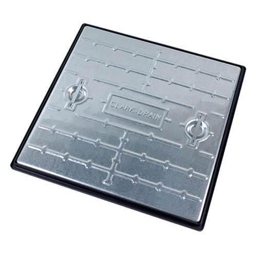 600x600mm 10T Galv Steel Manhole Cover & PP Frame.