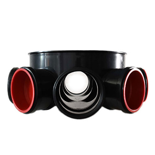 320mm Level Invert 5x110mm Inlet PPIC Base.