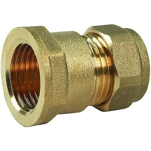 "1/2"" Geeka Female Iron Hose Coupler"
