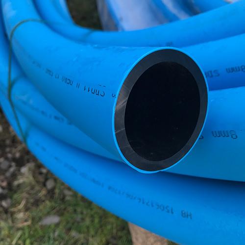 63mm Blue MDPE Water Pipe