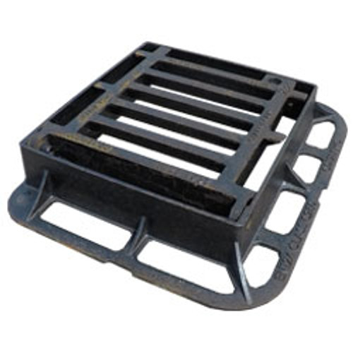 336mm x 308mm x 75mm Flat Top Rect Gully Grate