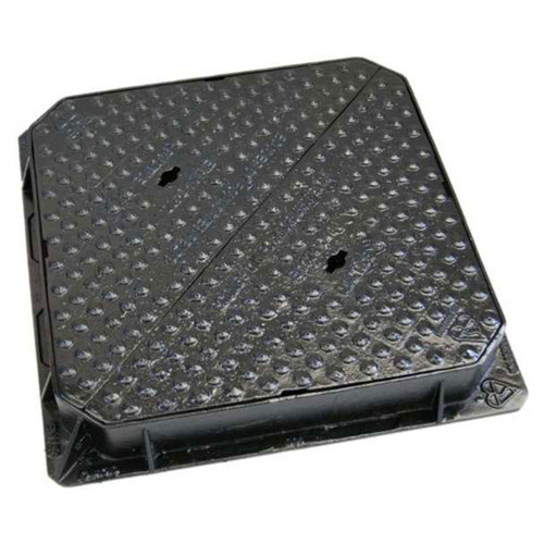 675 x 675mm D400 Ductile Iron Manhole Cover & Frame