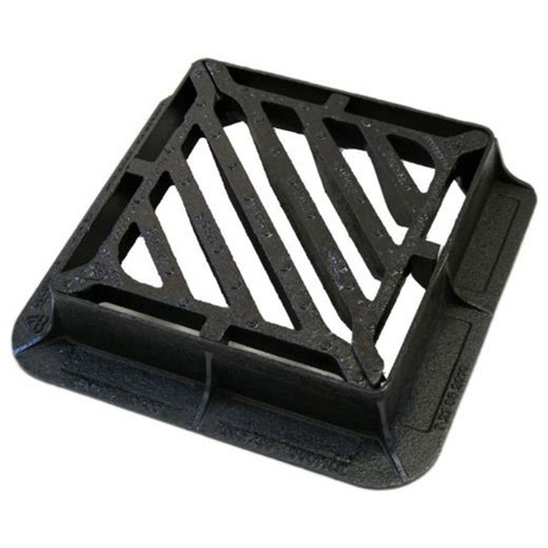 D400 435 x 435mm Double Triangular Gully Grate