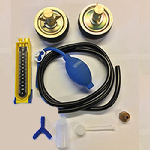 Horobin drain testing kit c/w plugs