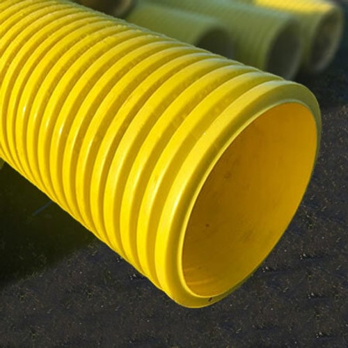 300/354mm Yellow Gas Ducting Length (6m).