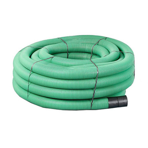 94/110mm green ducting coil (50m).