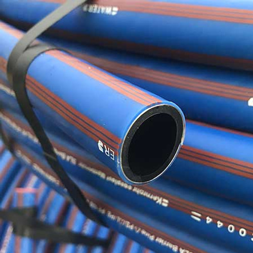 A coil of 25mm SLA barrier pipe