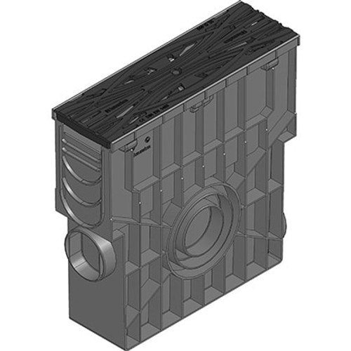 RECYFIX PRO 100 METROPOLIS ductile iron trash box. D400 loading.